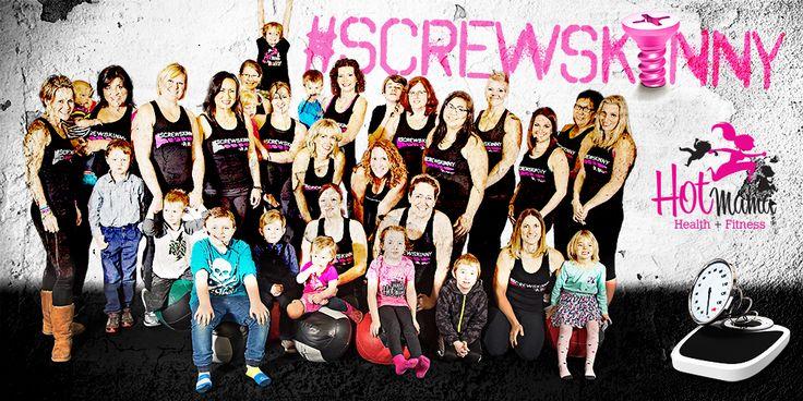 Screw Skinny: Strength & Empower Program – 8 Weeks – Hot Mama Health & Fitness