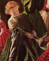 The Christmas Hamper detail