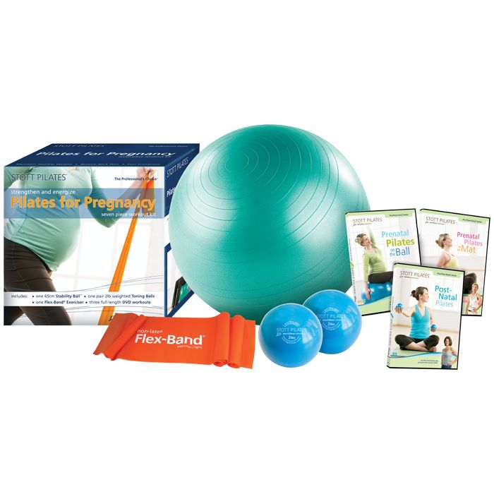 Stay strong & energized throughout your pregnancy with the Stott Pilates Pregnancy Workout Kit!