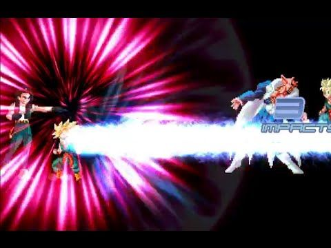 DBZ Games - Androiden18 & Dabura vs Kid TrunksSSJ & TrunksSSJ Kid - HD