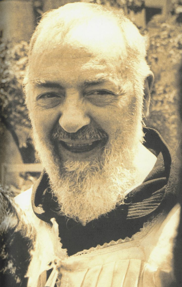 padre pio relics | Padre Pio used to say frequently this anecdot: