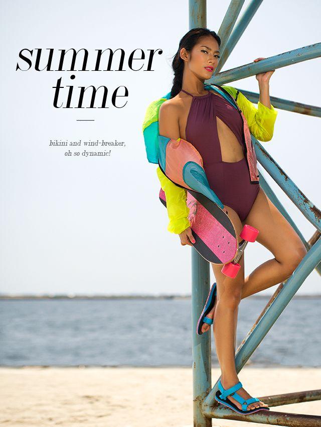 Tara Basro, Gaya Sporty dan Sensual Saat Liburan di Pantai | FIMELA