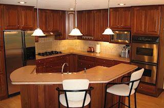 Leovan Design: Kitchen Design Ideas #kitchenworkstations #kitchenworktriangle #kitchen #layouts #peninsula