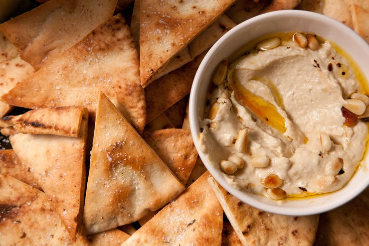 This baked pita chip recipe yields crunchy, sturdy chips that can stand up to any dip or spread.