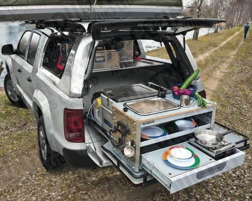 Truck Bed Camping Accessories Stuff To Buy Vw Amarok