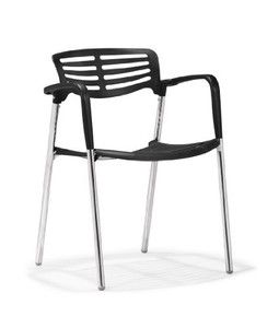 Zuo Scope Dining Chair Black (set of 4)