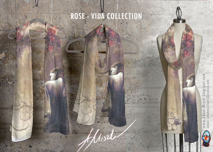 'Rose' is avaliable in VIDA collection product on site http://shopvida.com/collections/voices/adam-miszk  I invite everyone who wants to give me your love voice in fashion and buy my beautiful products.