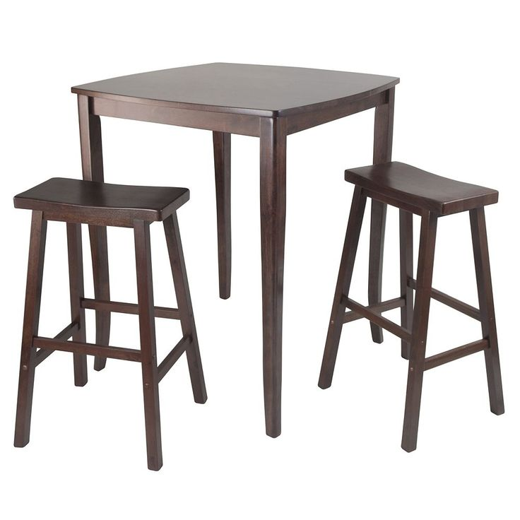 Winsome Inglewood 3-pc. Pub Dining Table Set, Brown