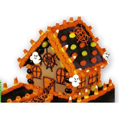 Halloween House - the kids made some with Graham crackers - FUN!