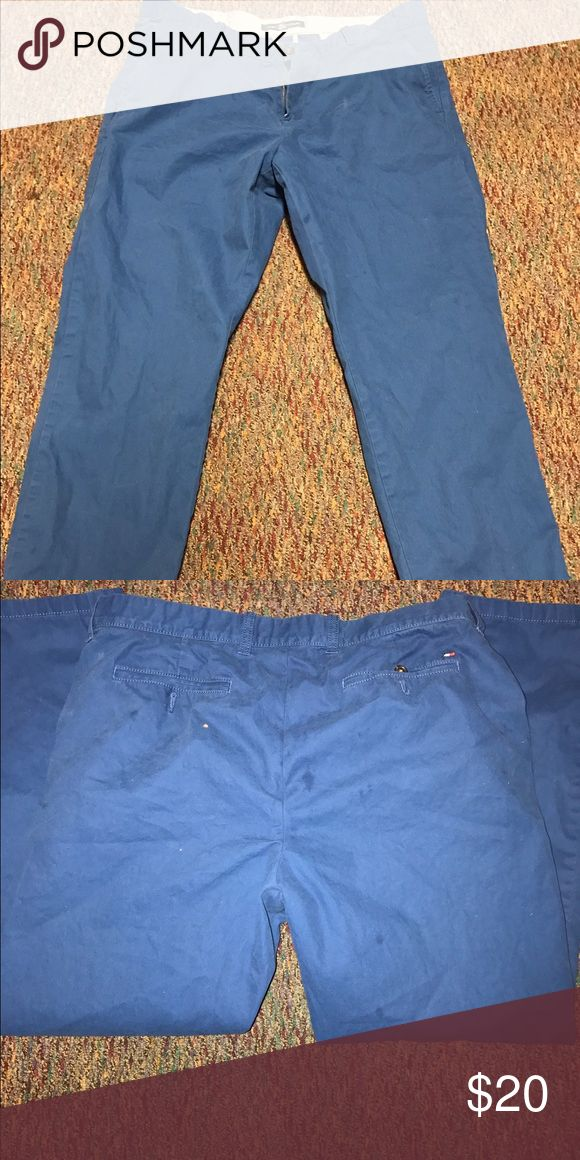 Blue Tommy Hilfiger jeans Good condition only wore couple times Tommy Hilfiger Pants Dress