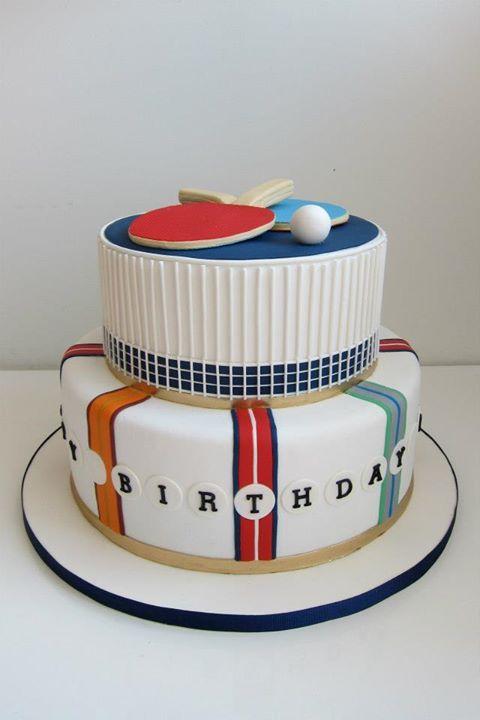 Ping Pong Cake