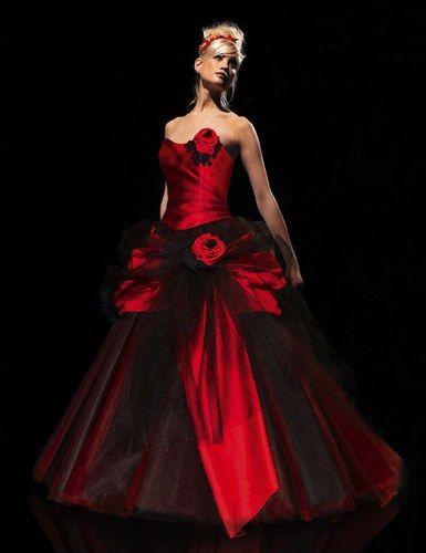 Hervé Mariage Cerise Robes De Mariee Rouge En 2019