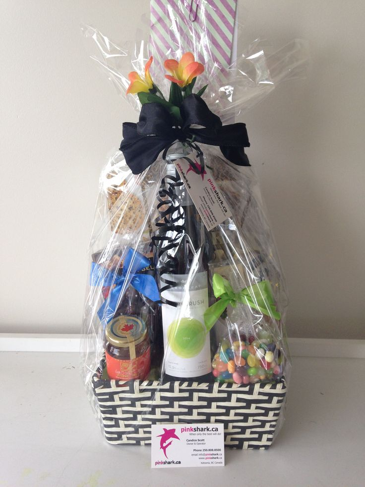 FABULOUS GIFT BASKETS BY --- pinkshark.ca http://www.pinkshark.ca/
