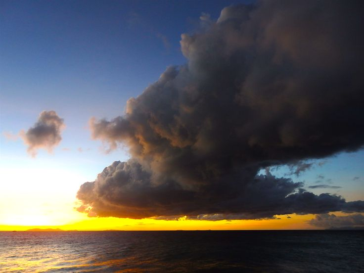 Interesting sunset! Still beautiful as it changes all the time! Image by: Olivia Jones