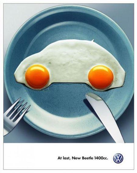 ¿Qué os parece esta campaña de Volkswagen? ¿No os la comeríais? #Publicidad #Marketing #Sevilla