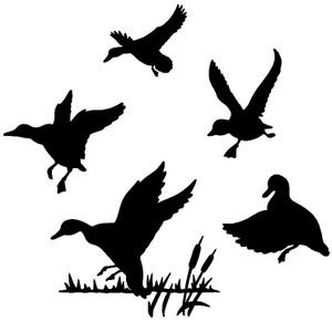 Duck Decal #5 MD Wildlife Outdoors Hunting Bird Stickers - Wildlife Decal