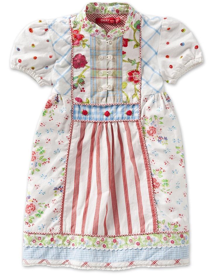 Oilily Daisy Dress lilian multi print - BABY