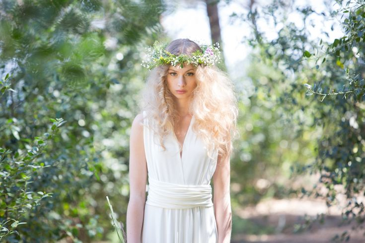 Rustic chic Bridal Gowns wedding dress ivory bridal gown woodland wedding dress long white dress marriage weddings long bridal gowns August 12 2015 at 11:59PM