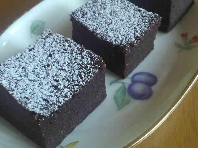 超簡単しっとり濃厚チョコケーキの画像