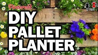 DIY Pallet Planter, Corinne VS Pin #34 – YouTube
