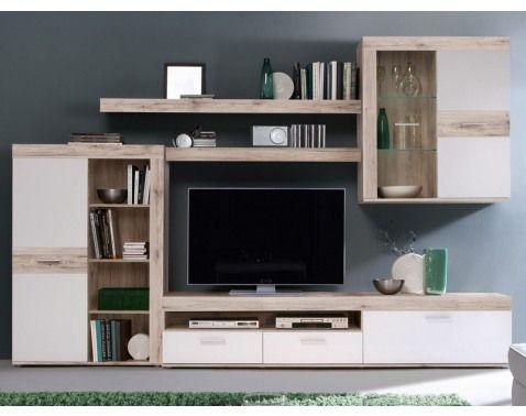 Moderne Wohnwände Sind Luftig Und Geradlinig Konzipiert U2013 Ein Dekorativer  Blickfang Im Wohnzimmer. Entdecken Sie Die Wohnwelten Von MÖBEL BOSS.