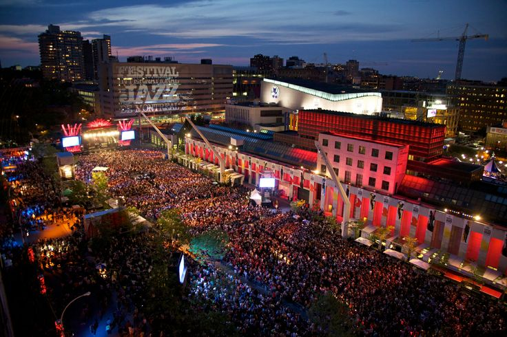 Festival International de Jazz de Montréal Crédit : © Festival International de Jazz de Montréal, Jean-François Leblanc #Montreal #Jazz #Downtown