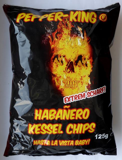 Chilihead77.de: Pepper-King - Habanero Kessel Chips