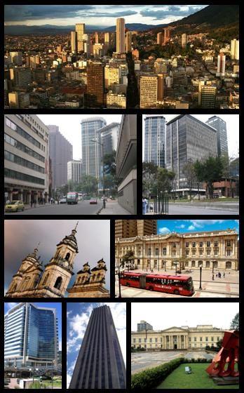 Bogota city, collage #colombia