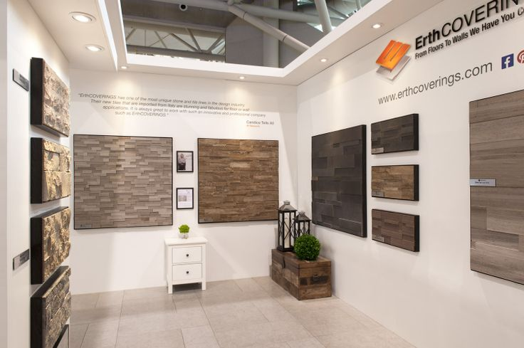 ErthCOVERINGS Booth Interior at IDS14! Interior Design Show Toronto