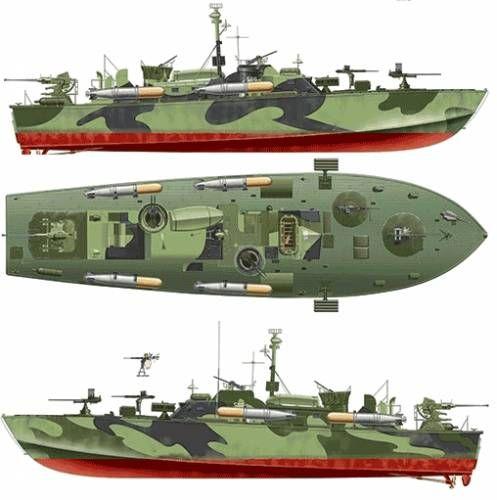 USS PT-596 (Elco 80 feet Torpedo Boat)