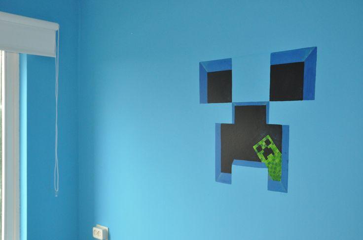 Mural Minecraft the Creeper 2 by Andrea Haandrikman