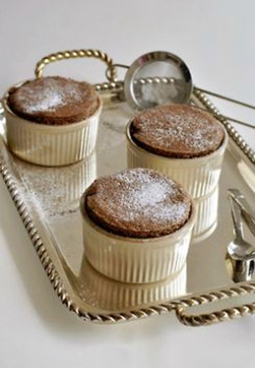 ♔ Chocolat soufflé