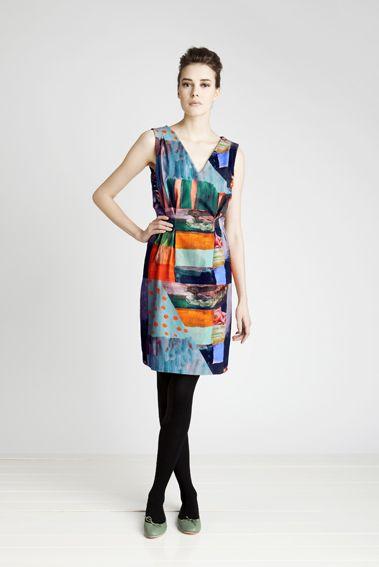jenni rope for marimekko: Tiisa Dresses, Woman Dresses, Clothing Women, Prints Design, Style Pinboard, Jenny Ropes, Work Dresses, Dreamy Dresses, Marimekko Dresses