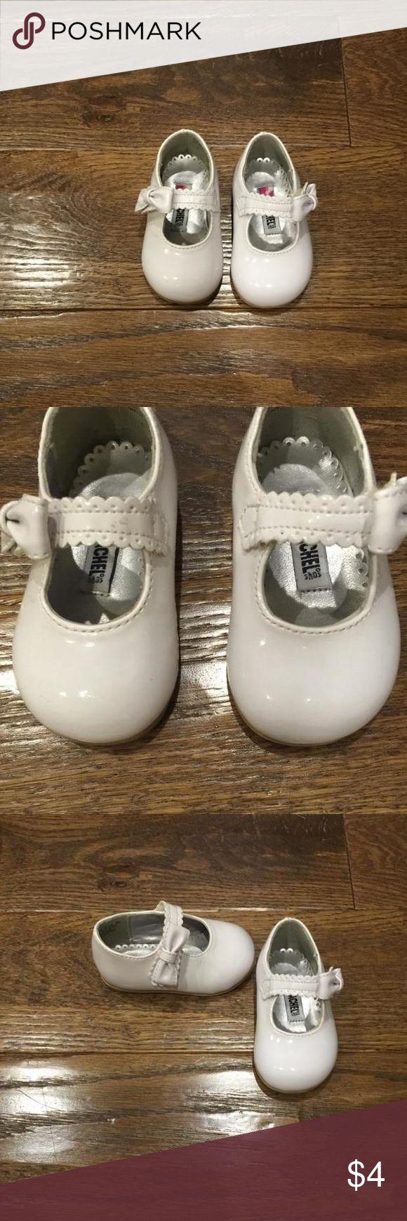 Rachel Shoes Rachel Shoes • white patten leather • small scuffs on front of shoe • worn once by non-walker Rachel Shoes Dress Shoes