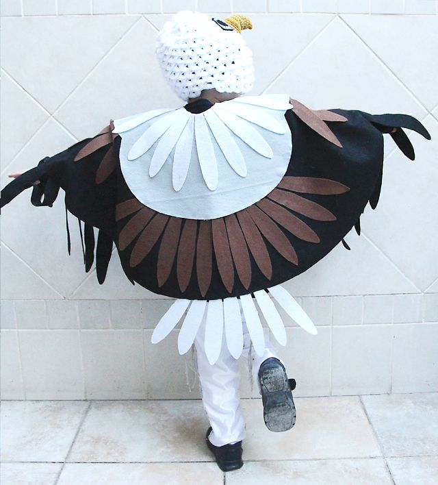 Purim Eagle Costume From Back