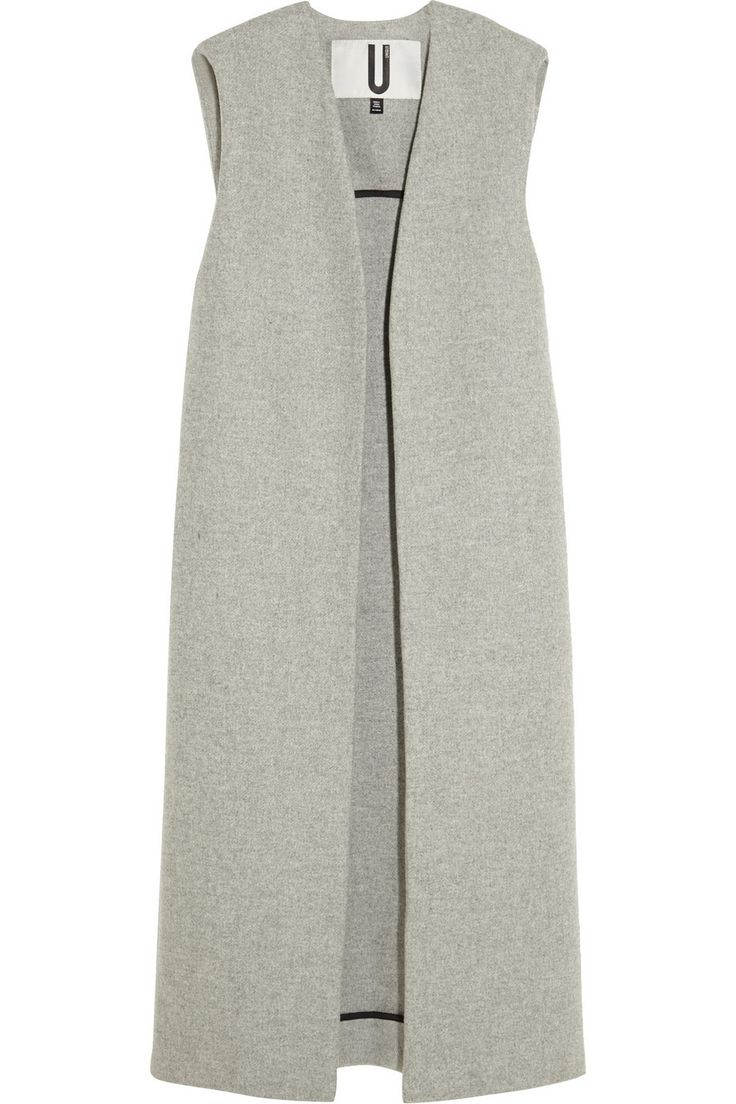 Topshop Unique Sleeveless Wool-Blend Coat via @stylelist | http://aol.it/1sTdSYb