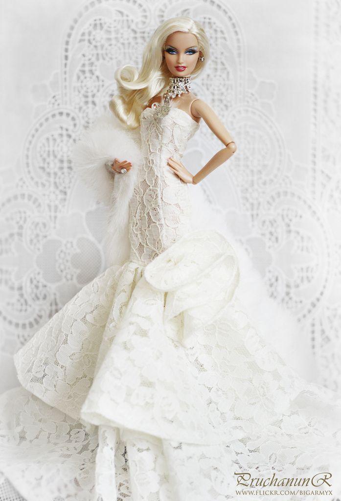 2018 Best Wedding Dresses For Dolls Images On Pinterest