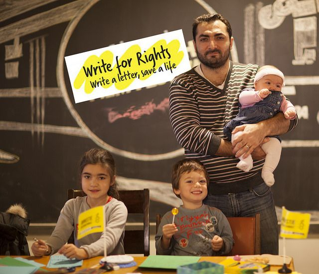 Get More People Out to Your Write for Rights AND Make it Amazing! | Amnesty International Canada