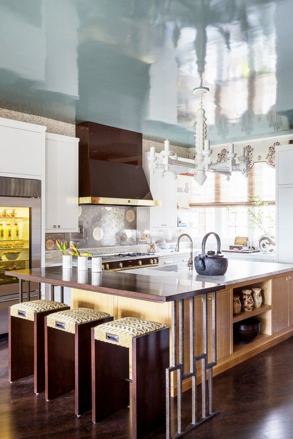 Family Room and Kitchen by Kathleen Navarra