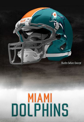 The helmet Nike should have given the Miami Dolphins
