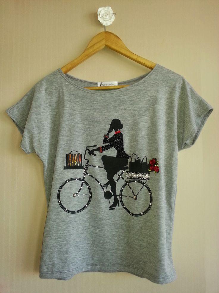 Camiseta Miss Bike - www.missbeatriz.com.br
