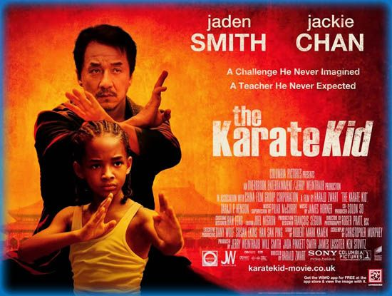 #classicreview: Did you know Tom Hanks presented Jackie Chan with an honorary Oscar last weekend? Called him a great actor. Look it up. What did you think of Chan's performance in THE KARATE KID? http://yourfamilyexpert.com/karate-kid-family-movie-review/