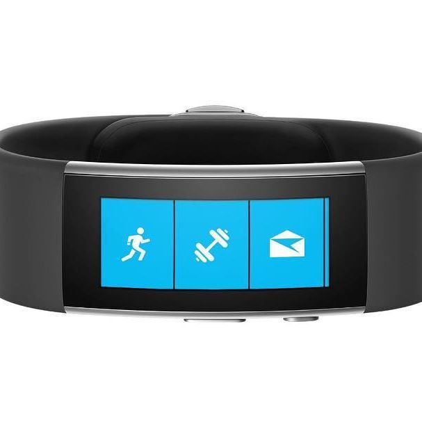 """Microsoft Band 2 - Large  Save $75.00 (30% OFF) from $249.99 to $174.99. Size large fits wrists 7.3""""-8.5"""". Continuous heart rate monitor tracks your heart rate, calories burn....see more details @ techfinderr.com #tech #deals #dailydeals #techdeals #microsoft #microsoftband"""