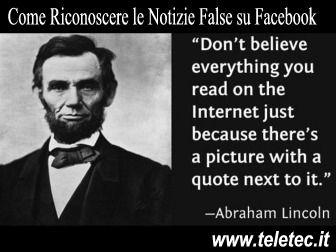 Facebook - Ecco alcune Piccole Dritte per Scoprire le Notizie False
