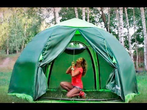 Установка палатки Lotos 5 Summer (ЛОТОС 5 Саммер)