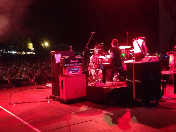 Crystal Fighters stage view