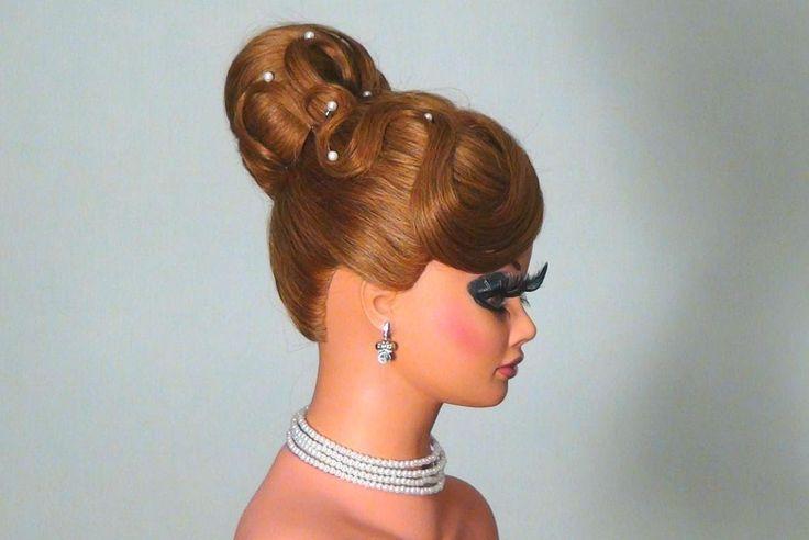 Вечерняя прическа на длинные волосы! Wedding prom hairstyles!