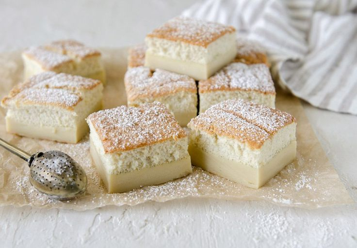 This recipe truly is magic - during baking a simple Vanilla custard transforms into a triple layer custard cake, just like magic.