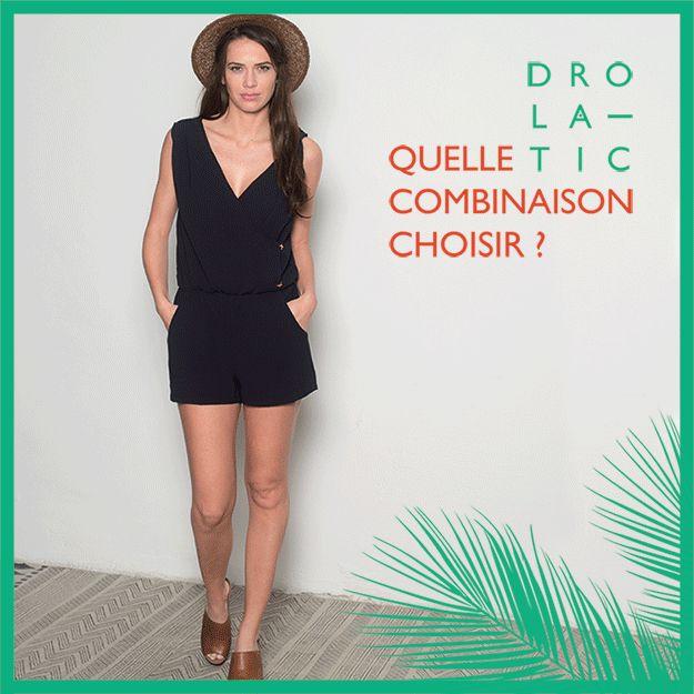 Quelle combinaison pantalon choisir ? Bustier - basic - Oversize - combi-short #fashion #modefemme #ss16 #drolatic #combinaison http://www.drolatic.com/store/19-combinaisons