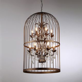 Rinee Cage Chandelier | Overstock™ Shopping - Great Deals on Warehouse of Tiffany Chandeliers & Pendants